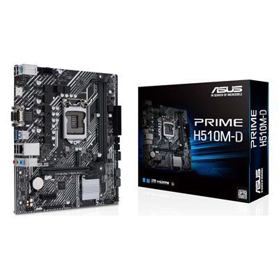 Εικόνα της Asus Prime H510M-D Micro-ATX s1200 90MB17M0-M0EAY0
