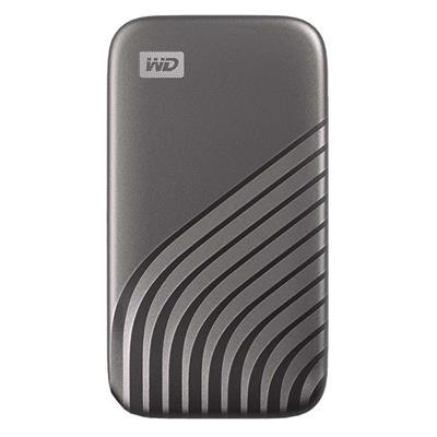 Εικόνα της Εξωτερικός Δίσκος SSD Western Digital My Passport 500GB Gray NVMe WDBAGF5000AGY-WESN