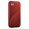 Εικόνα της Εξωτερικός Δίσκος SSD Western Digital My Passport 500GB Red NVMe WDBAGF5000ARD-WESN