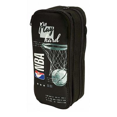 Εικόνα της NBA - Κασετίνα Βαρελάκι Οβάλ Play Hard 338-37141