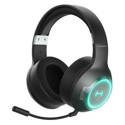Εικόνα της Headset Edifier G33BT Bluetooth RGB Black