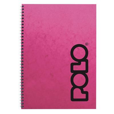 Εικόνα της Polo - Τετράδιο Spiral Ροζ A4 4 Θέματα 919086