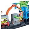 Εικόνα της Mattel Hot Wheels Σετ Παιχνιδιού Βασικές Πίστες City - Πίστα Πλυντήριο Με Χταπόδι GTT96