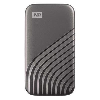 Εικόνα της Εξωτερικός Δίσκος SSD Western Digital My Passport 1TB Gray NVMe WDBAGF0010BGY-WESN