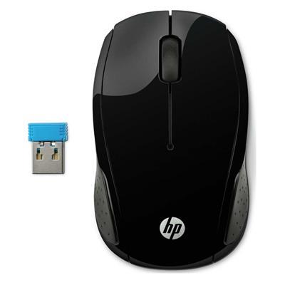 Εικόνα της Ποντίκι HP 220 Wireless Black 258A1AA