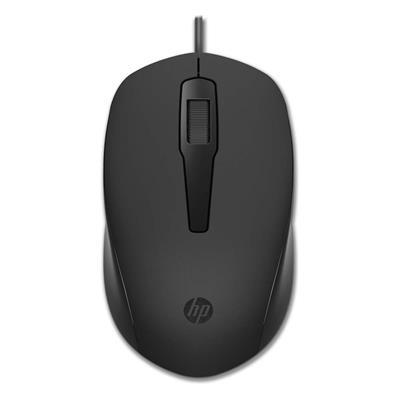 Εικόνα της Ποντίκι HP 150 Wired Black 240J6AA
