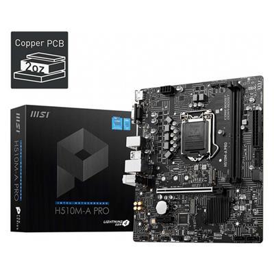 Εικόνα της MSI H510M-A Pro Micro-ATX s1200 7D22-009R