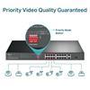 Εικόνα της Switch Tp-Link TL-SL1218P v1 16-ports 10/100Mbps PoE+ 2 10/100/1000Mbps 1 SFP