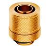 Εικόνα της Compression Fitting Corsair Hydro X XF Soft Straight (10/13mm) Gold 4-Pack CX-9051007-WW