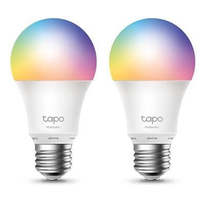 Εικόνα της Smart Wi-Fi Light Bulb TP-Link Tapo L530E E27 8.7W Dimable Multicolor (2-Pack)