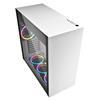 Εικόνα της Sharkoon Pure Steel RGB Tempered Glass White