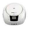 Εικόνα της Crystal Audio BMBU2W Portable FM/CD/USB Player White