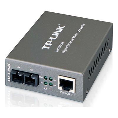 Εικόνα της Tp-Link Multi-Mode Gigabit SC Media Converter v4 MC200CM