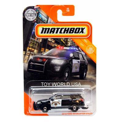 Εικόνα της Mattel Matchbox - Ford Interceptor Utility GKL74