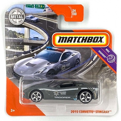 Εικόνα της Mattel Matchbox - Corvette Stringray 2015 GKM09