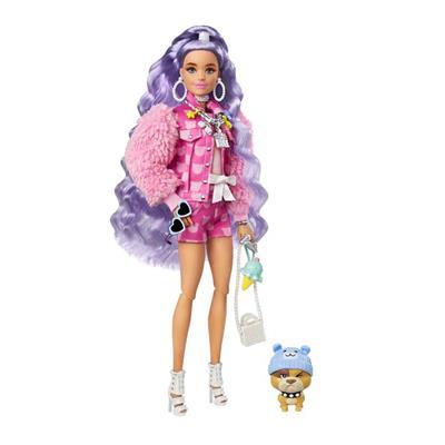 Εικόνα της Barbie Extra - Purple Hair GXF08