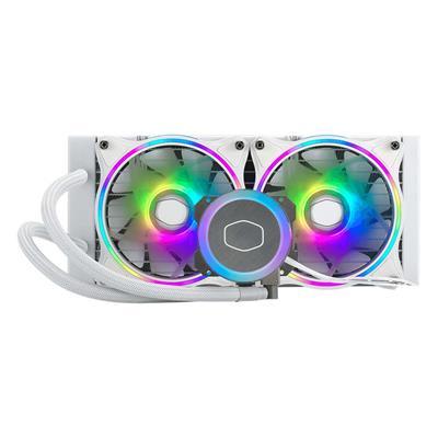 Εικόνα της CoolerMaster MasterLiquid ML240 Illusion ARGB White MLX-D24M-A18PW-R1