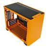 Εικόνα της Cooler Master Masterbox NR200P Tempered Glass Sunset Orange MCB-NR200P-OCNN-S00