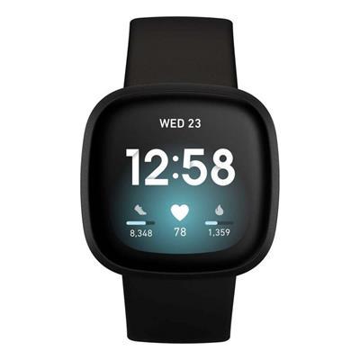 Εικόνα της Smartwatch FitBit Versa 3 Black Aluminum FB511BKBK