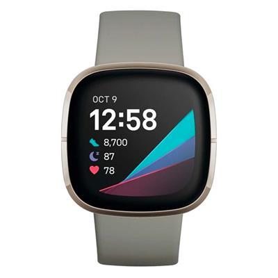 Εικόνα της Smartwatch Fitbit Sense Sage Grey/Silver Stainless Steel FB512SRSG