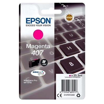 Εικόνα της Μελάνι Epson 407 Magenta C13T07U340