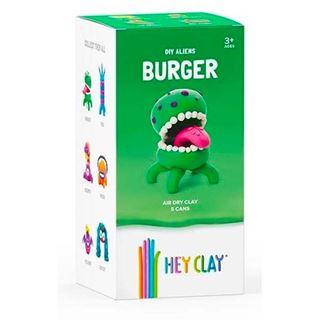 Εικόνα της Claymates Burger - Colorful Kids Modeling Air-Dry Clay, 5 Cans MAE002